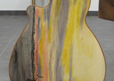 "David Freeman ""Steel String Guitar"" 2011; $2,800"