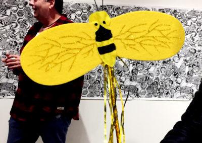Bee wand