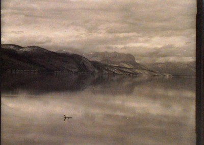 "Gordon Holtslander ""Lake"" 1988. Palladium print. Not For Sale"