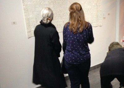 "Premier's Prize winning artist Cathryn Miller discusses her piece ""In Winter"" with artist Monika Kinner-Whalen."