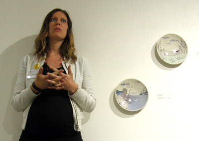 Artist: Jenn Demke-Lange at Reception & Artists' Talk