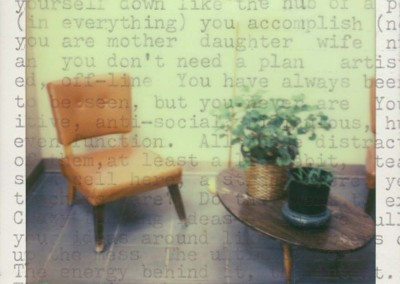 """Jana Kutarna """"You Don't Need a Plan"""" 2014. Archival inkjet print; Instant film scanned and printed. Edition 1 of 5. $250"""