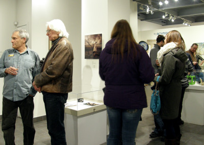 Guests at the Exhibition Reception.