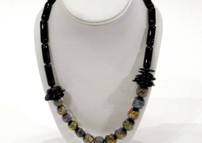 "Shauna Mitru ""Fire Opal Necklace"" 2013; $250"