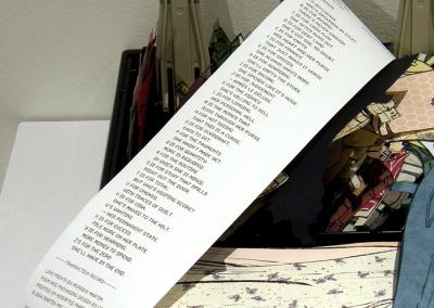 Paper Doll - Affluenza (Monique Martin), detail