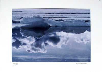"Hans Dommasch ""Otto Fiord"" 1986. Print. Not for sale."