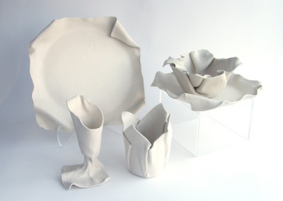 Napkin Anyone? (Lorraine Sutter), 2015: Porcelain. $400.