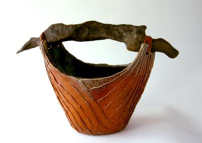 Beachcomber (Matina Morton), 2013: Stoneware. $500. Not For Sale.