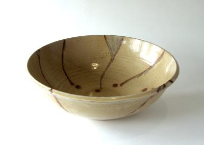 Over the Edge (Joan Ashenhurst), 2013: Stoneware, glazes, oxides. $50. Not For Sale.