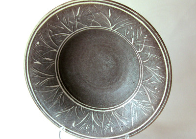 Untitled (Ilse Skarsgard), Circa 1995: Clay, glazes. $200. Not For Sale.