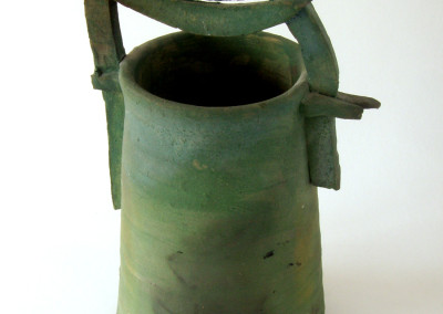 Colour Jane (Olive Kalapaca), 1990: Clay. $250. Not For Sale.