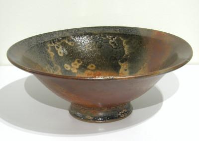 Japanese Sunrise (Cathy Mumford), 2015: Stoneware, glazes. $150.