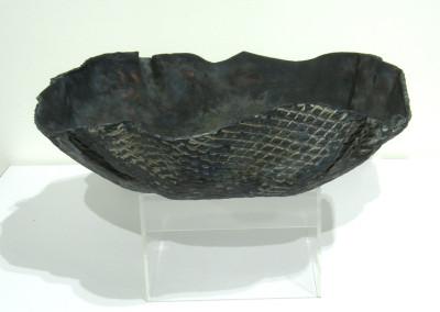 Untitled (Lynda Harrington), 1985: Raku Clay. $150. Not For Sale.