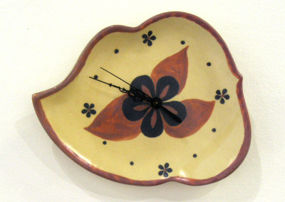 Summer Time (Elaine Friesen), 2015: Stoneware, glaze,. $48.
