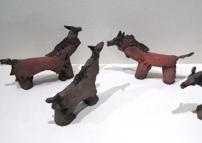 "Les Potter ""The Herd II"" 2014; $1,375"