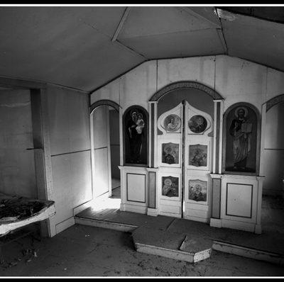 Northville Altar (Robert S. Pohl), 2008: Analog photography.  $695.