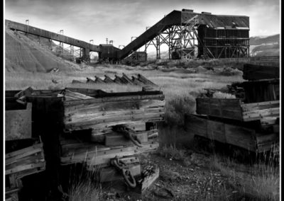 Atlas Coal Mine (Robert S. Pohl), 1999: Analog photography.  $695.