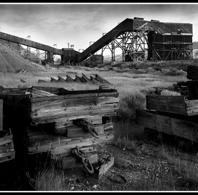 Atlas Coal Mine (Robert S. Pohl), 1999: Analog photography.  $695.