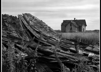 Collapsed Barn (Robert S. Pohl), 1998: Analog photography.  $695.