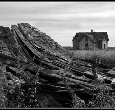 Collapsed Barn (Robert S. Pohl), 1998: Analog photography.  $695.