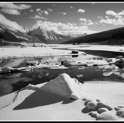 Medicine Lake (Robert S. Pohl), 2013: Analog photography.  $695.