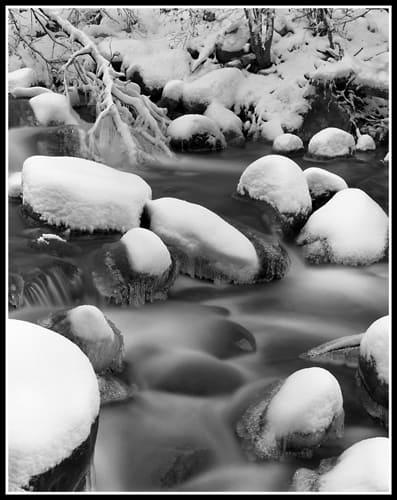 Portal Creek (Robert S. Pohl), 2014: Analog photography.  $695.