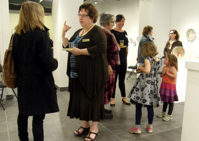 Current SCC ED, Carmen Milenkovic, chatting with SCC Board Member Sandra Ledingham