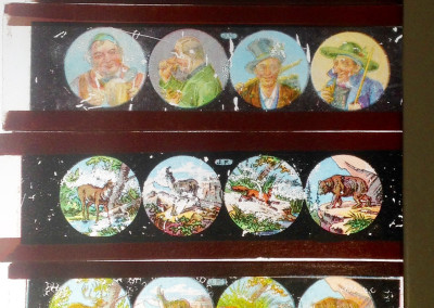 Private Collector — glass slides