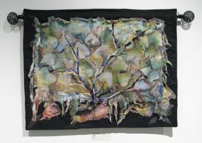 """Rita St. Amant """"Debris"""" 2014; $450"""