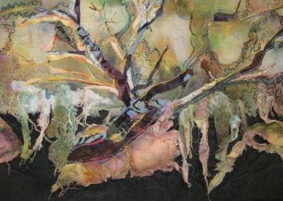 "Rita St. Amant ""Debris (detail)"" 2014; $450"
