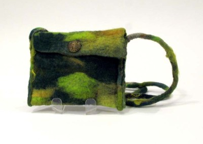 "Donna Stockdale ""Shoulder Bag - Leafy"" 2013; $76"
