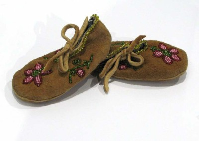"""Baby Moccasins"" Leah Dorion Collection, Worn by Louis Lafferty"