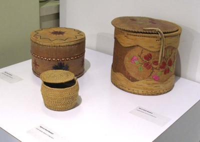 """Birch Bark Baskets"" Leah Dorion & Ruth Lafferty Collections"