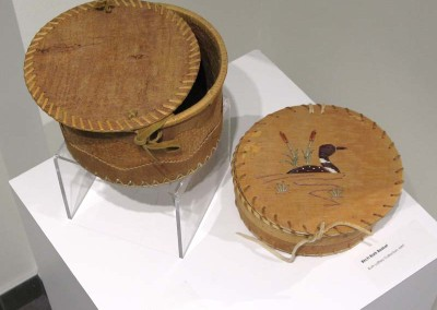 """Birch Bark Baskets"" Ruth Lafferty Collection"