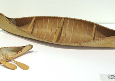 """Birch Bark Canoes"" Leah Dorion Collection"
