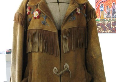 """Men's Moose Hide Jacket"" Richard C. Lafferty Collection"