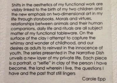 Carole Epp Artist Statement