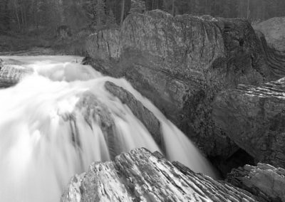 Rock Fins and Falls (Robert S. Michiel), 2014: Analog photography. Not for sale.