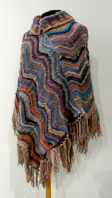 Mauvesta (Cindy Hoppe), 2012: Wool, silk; knitting, crochet. $500