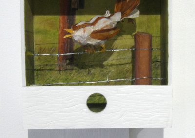 Home on the Range (Judy Weiss), 2014: Mixed media. NFS