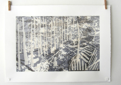 Winter Walk (Rowan Pantel), 2014: Silkscreen. $175