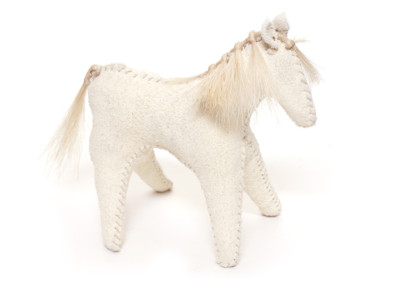 Kakwa - traditional Plains hide-horse doll