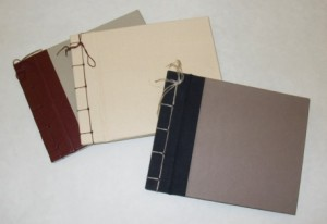 Japanese Slab Book Binding