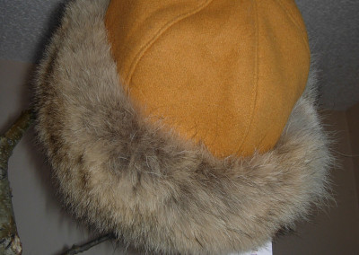 Gold Coyote Hat