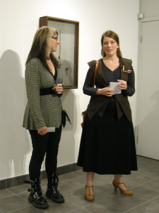 SCC Jewellery Artists Melody Armstrong (l) and Mary Lynn Podiluk (r)