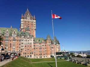 Carmen & Vivian also had time for some sight seeing. Here is Fairmont Le Château Frontenac.