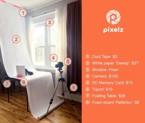 Lighting Table Pixelz