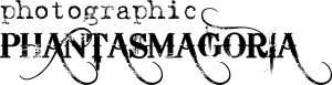 """Photographic Phantasmagoria"" wordmark"