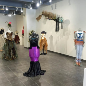 "The current SCC Gallery exhibition ""Wearable Art 2"""