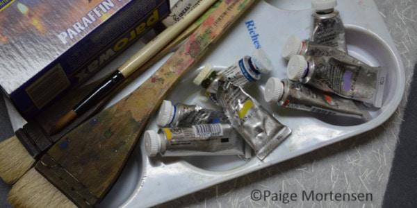 Tools for Watercolour Batik